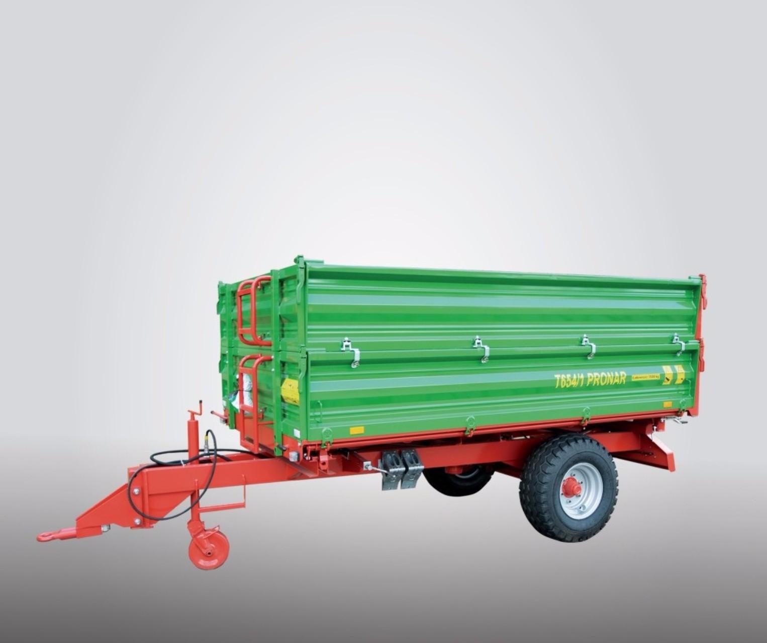Traktorové prívesy a návesy do 5 ton (sklápacie)