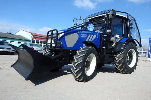 Traktory Farmtrac - lesná úprava